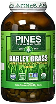 Pines 1400 Count, Barley Grass Tablets