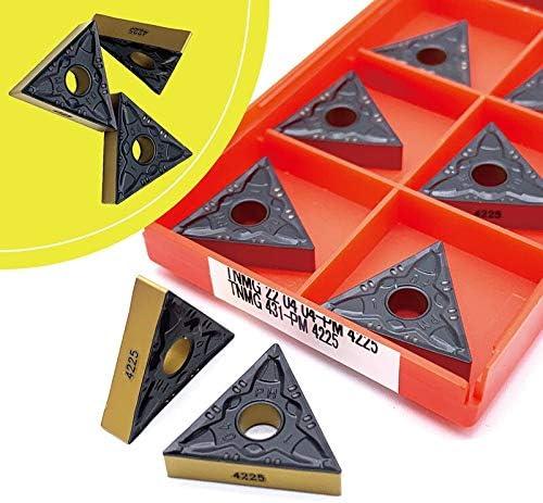 Txrh Drehbank TNMG220404 PM 4225 TNMG220408 PM 4225 Hard Alloy Außendrehwerkzeuge TNMG220404 Carbidecutter Schneidewerkzeug CNC-Werkzeuge (Angle : TNMG220408 PM 4225)