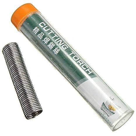 1.3 M Soldadura Hierro Wire Rosin Core Cord Solder Tube Kit Electrical DIY Tool: Amazon.es: Electrónica