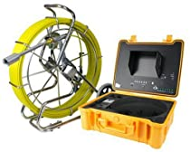300 ft Sewer Pipe Wall Snake Video Camera System DVR w/ Built in Transmitter