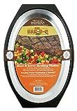 Mr Bar B Q 06102X Heat and Serve Sizzling Platter
