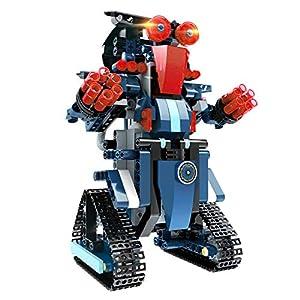 Kit Robot Jouet, Blocs de Construction pour Enfants Robot de Télécommande Créatif Divertissant Jouet D'éducation Précoce…