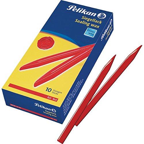 PELIKAN 730485 Pack 10 Siegellack-Stifte, rot B004APAUIS       | Großer Verkauf  80d253