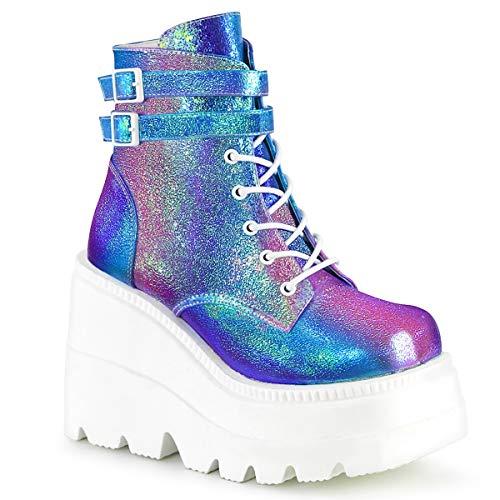 Demonia Women's Shaker-52 Platform Boots]()