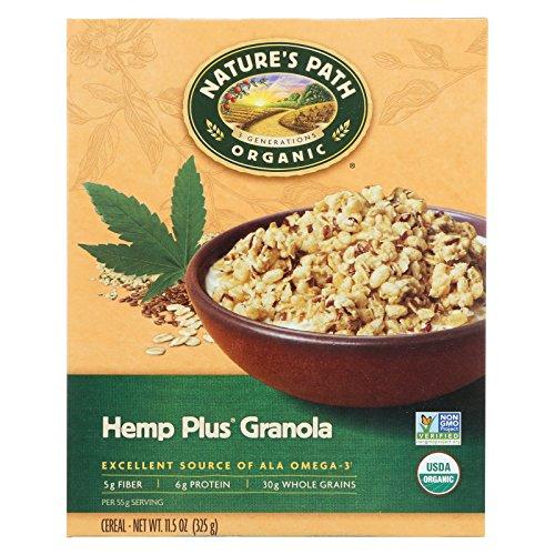 (Nature's Path Organic Hemp Plus Granola - Case of 12 - 11.5 oz.)