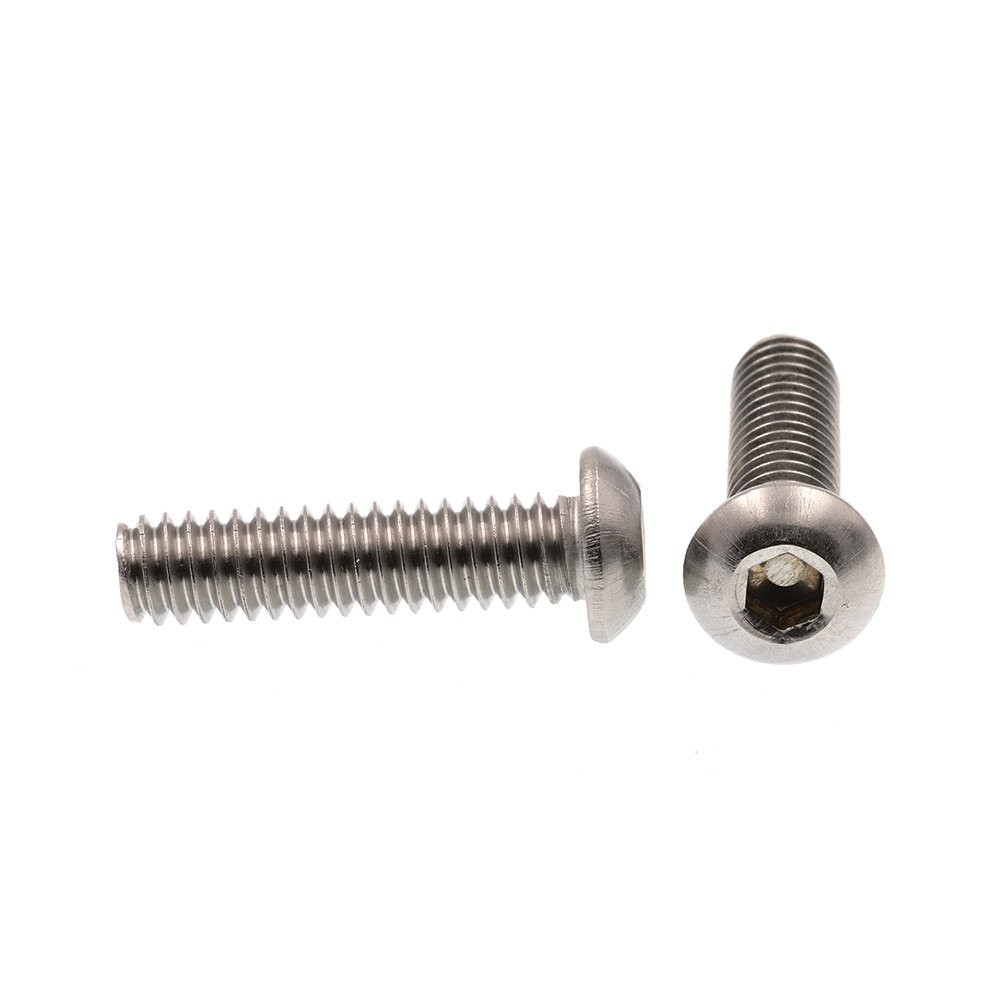 Grade 18-8 Stainless Steel 1//4 in-20 X 1 in Drive 10-Pack Prime-Line 9169743 Socket Cap Screws Hex Allen Button Head