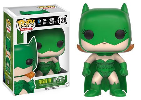 (Funko POP Heroes Villains as Batgirl Poison Ivy Action Figure)