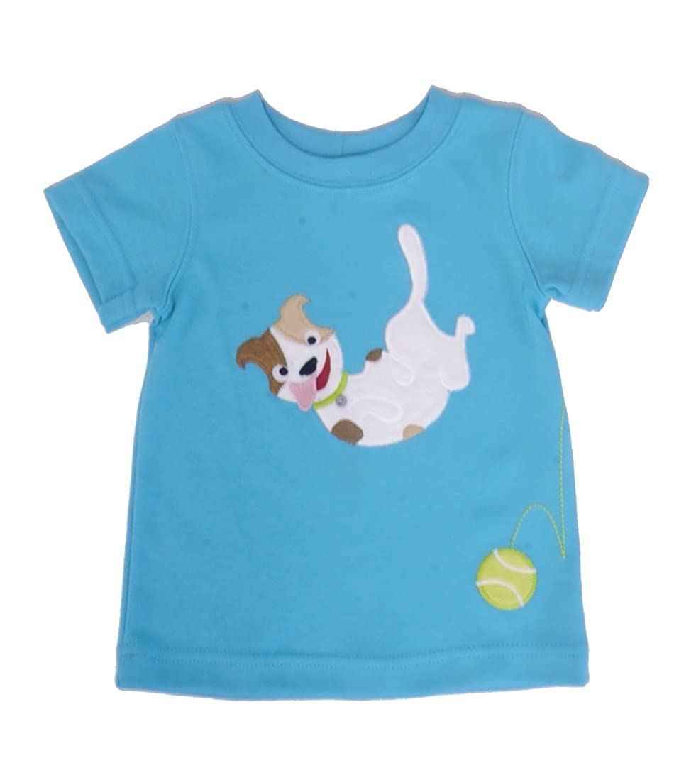 Wally /& Willie Playful Pup T-Shirt