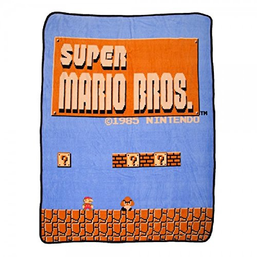 Brothers NES Super Plush Throw Blanket ()