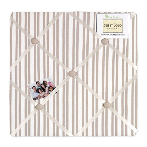 Sweet Jojo Designs Little Lamb Fabric Memory/Memo Photo Bulletin Board by Sweet Jojo Designs