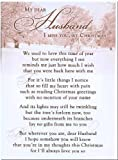 Grave Card - My Dear Husband, I Miss You, At Christmas - Free Card Holder - CM09