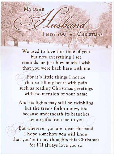 Grave card my dear husband i miss you at christmas free card grave card my dear husband i miss you at christmas free card m4hsunfo