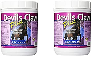 (2 Pack) Uckele Devils Claw Plus Horse Supplement, 2-Pounds Each