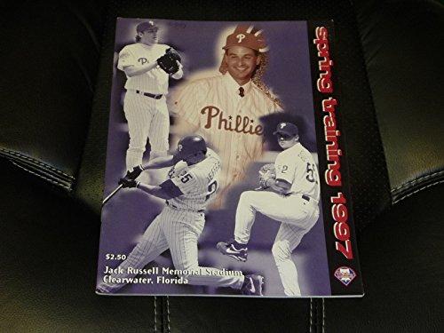 1997 PHILADELPHIA PHILLIES SPRING TRAINING BASEBALL PROGRAM CURT SCHILLING