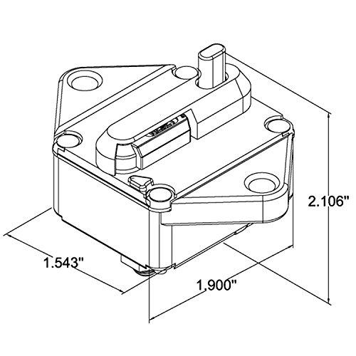 Amazon Com Zookoto 150a Circuit Breaker Hi Amp Fuse Inverter With