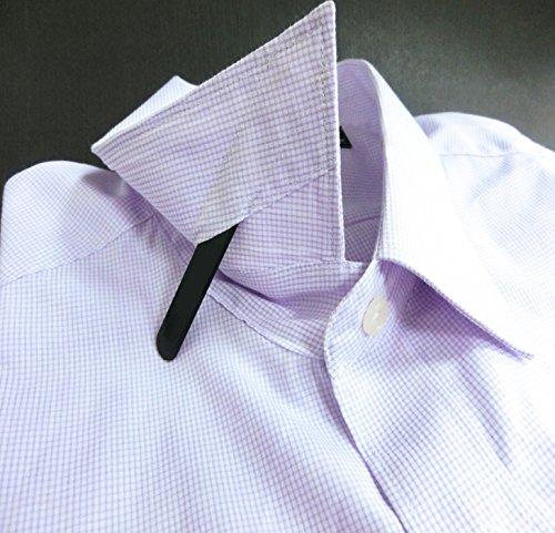 Shang Zun 8 Pcs Ceramic Collar Stays Gift for Men, Black & White 2.59'' by Shang Zun (Image #5)