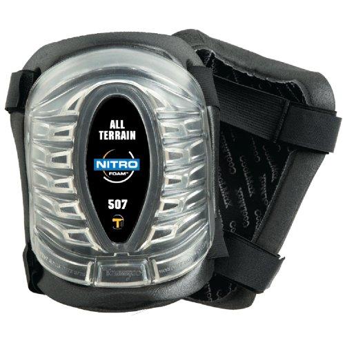 Tommyco HD507 Heavy Duty Foam All Terrain Knee Pads with CoolMax (All Knee Terrain Pads)