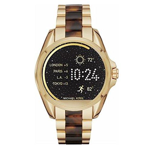 Michael Kors Reloj Mujer de Analogico con Correa en Chapado en Acero Inoxidable MKT5003: Amazon.es: Relojes