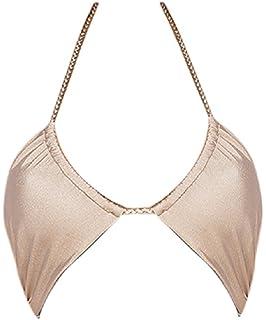 4b992ee6e95 Amazon.com: Somedays Lovin Unity Gold Metallic Bikini Bottom: Clothing