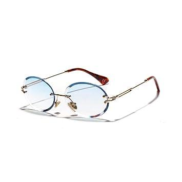 JIGHB Gafas de Sol Femeninas Gafas De Sol Ovaladas ...