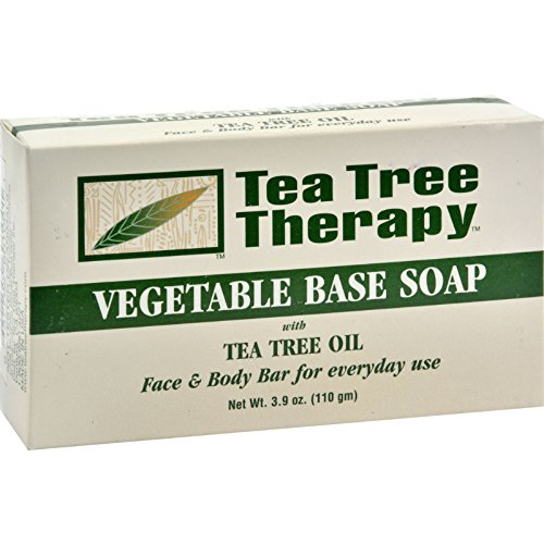 Tea Tree Therapy Vegetable Base Soap with Tea Tree Oil - ...