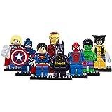 B-Creative 2017 8PC Marvel Avengers DC Super Hero Mini Figure Set Fits UK SELLER