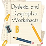 Dyslexia and Dysgraphia Worksheets for Teachers USB   The best teacher worksheets for kids with dyslexia   School and Preschool   The best way to learn.