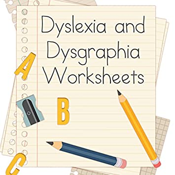 Worksheets Dysgraphia Worksheets dysgraphia worksheets delibertad amazon com dyslexia and for teachers usb