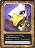 World of Warcraft Gryphon Hatchling Plush with Bonus In-Game Companion