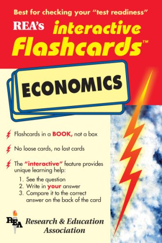 Economics Interactive Flashcards Book (Flash Card Books)