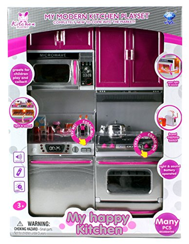 My Modern Kitchen Dishwasher Oven Battery Operated Toy