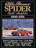 Alfa Romeo Spider 1966-91, Clarke, R. M., 1855201364