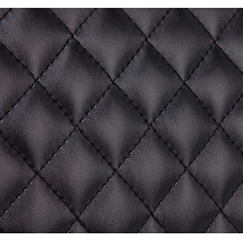 Ling été les sacs femmes grille pour bandoulière et Sac Noir Mode bag 2 Marée Forfait Lady Mme Printemps Chaîne à Aw5zInqvv
