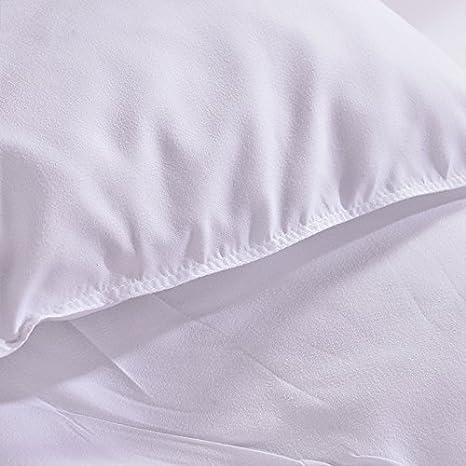 Soulwell Beb/é Funda de almohada de algod/ón org/ánico S/úper Suave Respirable Lindo Colorido Calidad Premium GOTS certificado vivero Ropa de cama cuna Almohada para ni/ños peque/ños 33 x 45 cm Animales