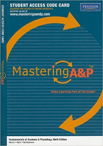 Amazon.com: Mastering A&p: Student Access Code Card for Fundamentals ...