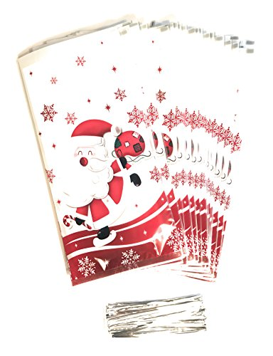 LSP - Christmas Treat Bags - 50 Pack of 10