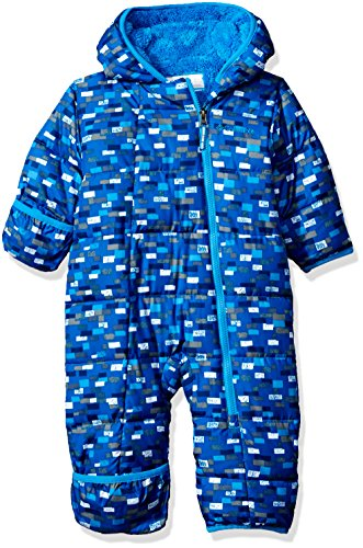 Columbia Baby Girls' Frosty Freeze Bunting, Peninsula Blocks, 3-6 Months ()