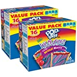 Kellogg's Pop-Tarts Wildlicious Frosted Wild! Berry, 16 ct, 30.4 oz - Pack of 2