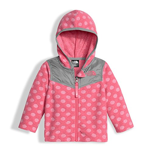 The North Face Infant Lotie Dotie Hoodie Honeysuckle Pink 6/12M (Baby North Face Sweatshirt)