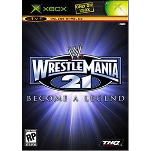 [WWE Wrestlemania XXI Become a Legend - Xbox] (Costume Quest 2 Player)