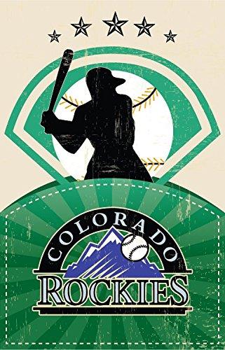 Colorado Rockies MLB Baseball Sport Poster 18'' x 28'' - by FINESTPRINT88