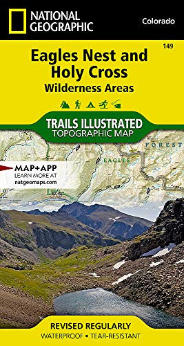 (Eagles Nest and Holy Cross Wilderness Areas (National Geographic Trails Illustrated Map) )