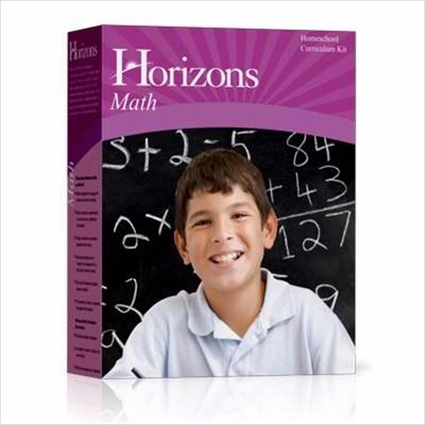 Horizons Mathematics Grade 3: Home School Curriculum Kit (Lifepac)
