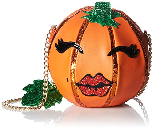 Betsey Johnson Oh My Gourd Crossbody, orange