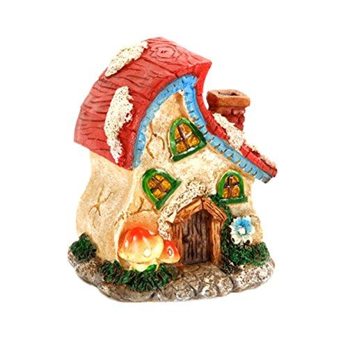 Mushroom Miniature Garden Building Figurine