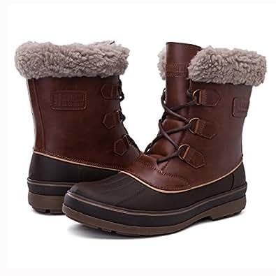 Amazon.com | Globalwin Men's Waterproof Winter Boots