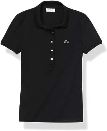 Lacoste Women's Basic 5 Button Polo Shirt