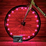 Accessories Girls Best Deals - Best Pink Bicycle Wheel Lights - Stylish Accessories for Safe Bike Riding - Girls & Women Love These Cool LED Spoke Decorations - Fast Easy Install - Batteries Included - 100%