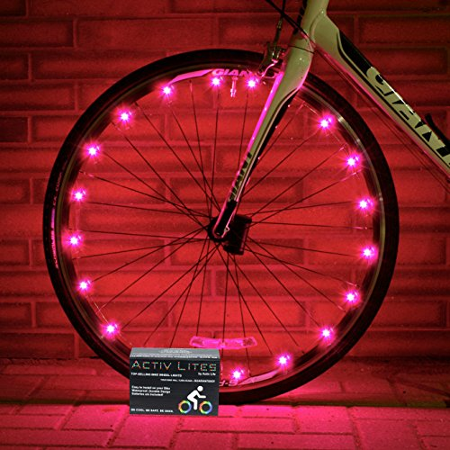 Best Pink Bicycle Wheel Lights - Stylish Accessories for Safe Bike Riding...