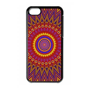 Crazy Trippy logo Design for iPhone 5C hard back cover